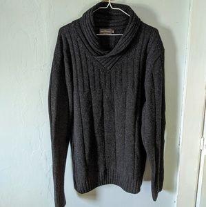 Rodd & Gunn Men's Large V-collar Sweater Charcoal